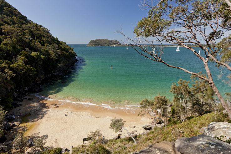 Resolute Beach, Ku-Ring-Gai Chase National Park, Sydney, Australia.