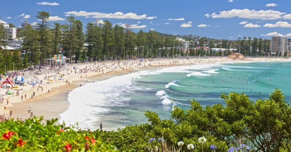 Manly Beach, Sydney, Australia.