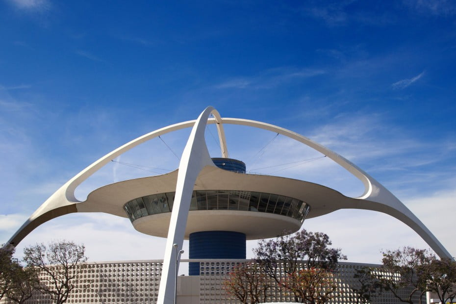 Theme Building, LAX airport, Los Angeles, California