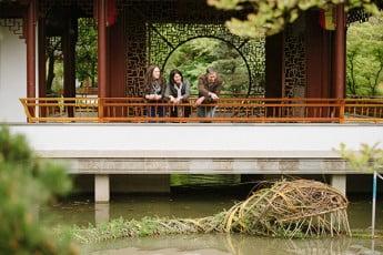 Dr Sun Yat-Sen Memorial Gardens, Vancouver, Canada.