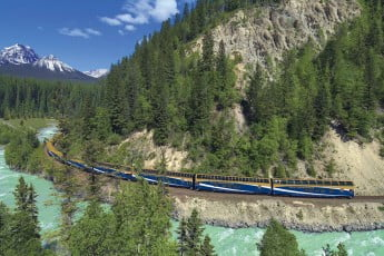 Rocky Mountaineer Train, Vancouver, Canada.