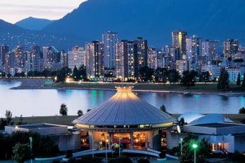 Vanier Park, Vancouver, Canada.