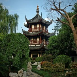 Confucian Temple of Shanghai, China.