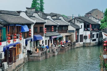 Zhujiajiao watertown, Shanghai, China.
