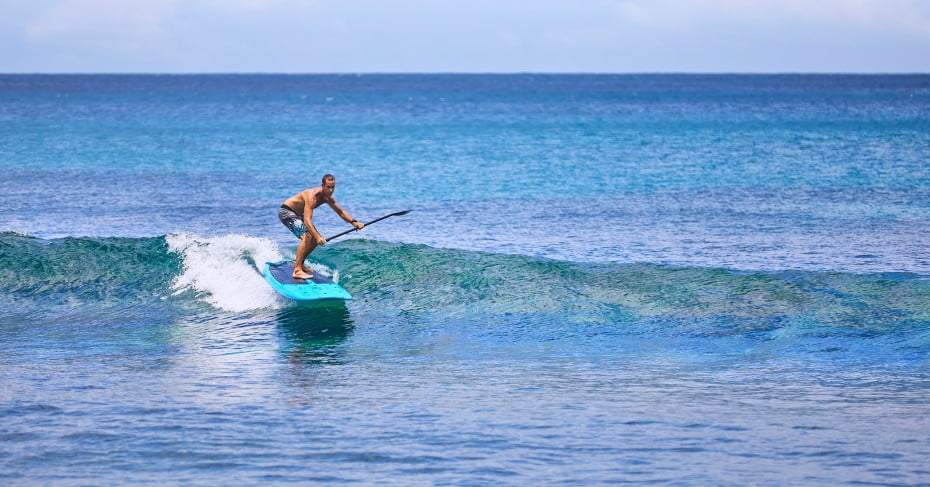 SUP at Sand Cay, Fiji