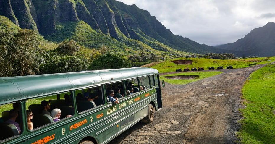 Kualoa Ranch Tour, Hawaii