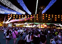 Victoria park festival. Hong Kong