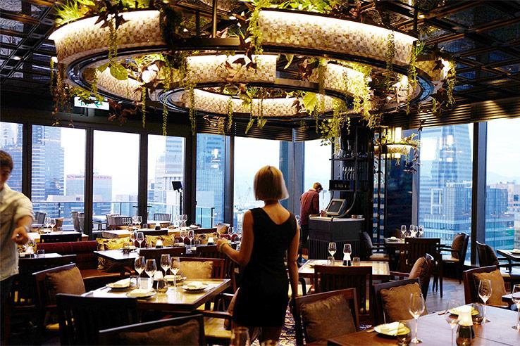CÉ LA VI restaurant, Hong Kong.