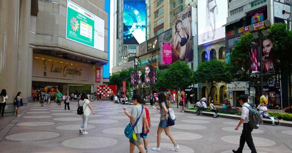 Times Square Hong Kong.