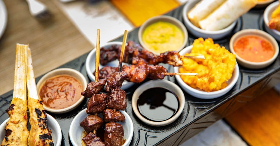 Foods, Bali, Indonesia.