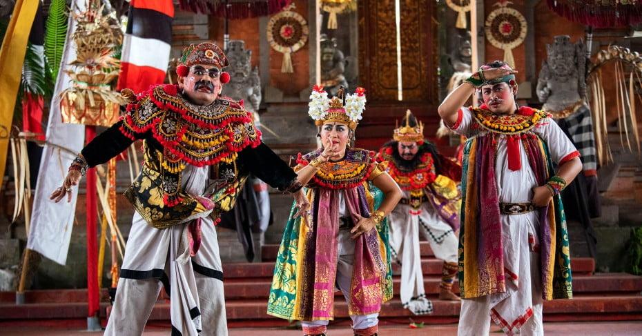 A dance show, Bali, Indonesia.