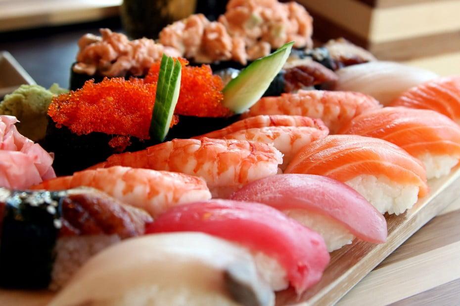 Sushi, Japan.