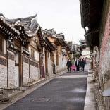 Hanok Village, Seoul, Korea.