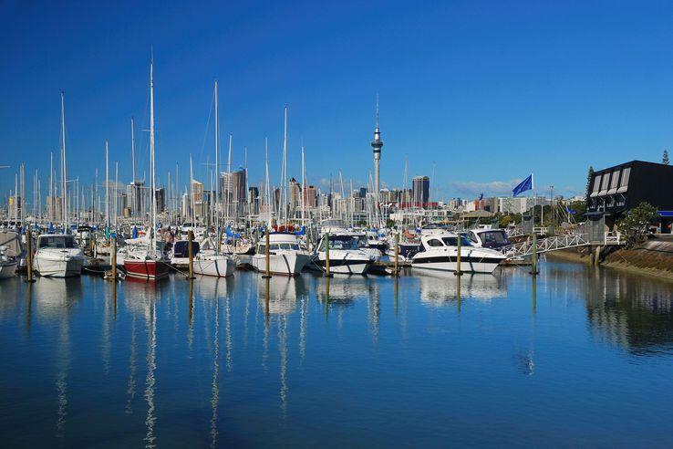 Marina, Auckland, NZ.