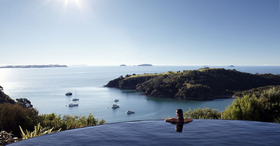 Delamore Lodge, Waiheke Island, Auckland, New Zealand.