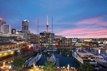 Viaduct harbour, Auckland.