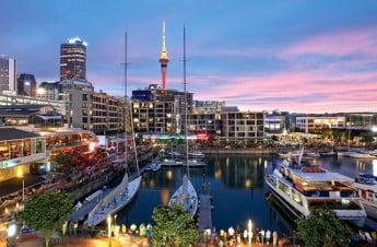 Viaduct Harbour, Auckland, New Zealand.