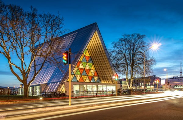 Cardboard Cathedral, Christchurch, New Zealand.