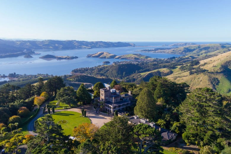 Larnach Castle, Dunedin, New Zealand.