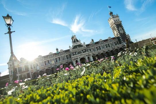 Railway Station, Dunedin, New Zealand.