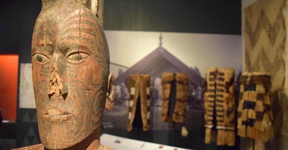 Artefacts at Tairawhiti Museum, Gisborne.