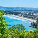 Tupapa Heritage Trail from Titirangi/Kaiti Hill, Gisborne, New Zealand.