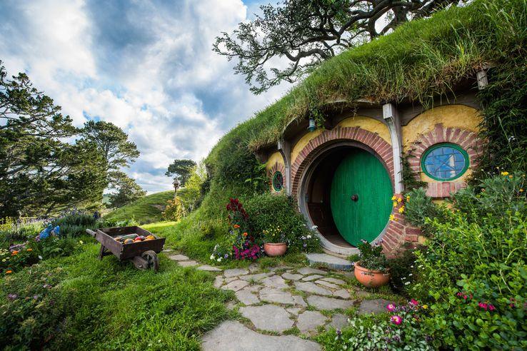 Hobbiton in summer