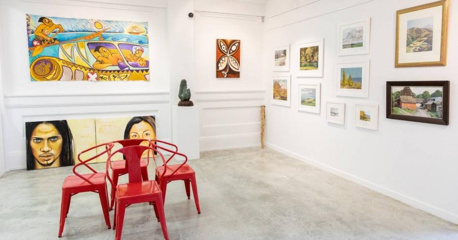 Chiaroni Gallery, Invercargill.