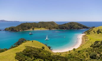 Bay of Islands, New Zealand.