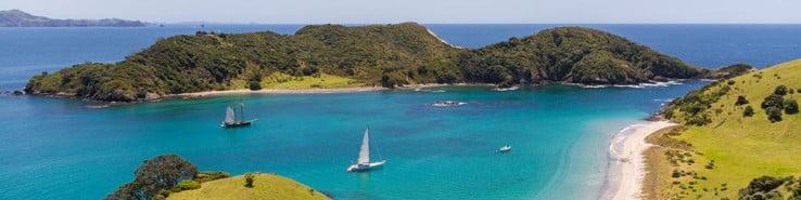 Bay of Islands, New Zealand.
