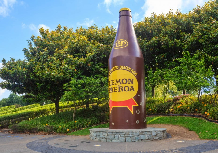 As close as a drink can get to becoming a national treasure, Kiwis claim a fizzy Lemon & Paeroa is excellent for hangovers.