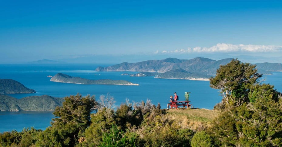 Eatwell's Lookout, Queen Charlotte Track