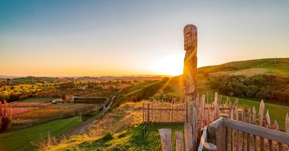 Ōtātara pā, Napier, New Zealand.