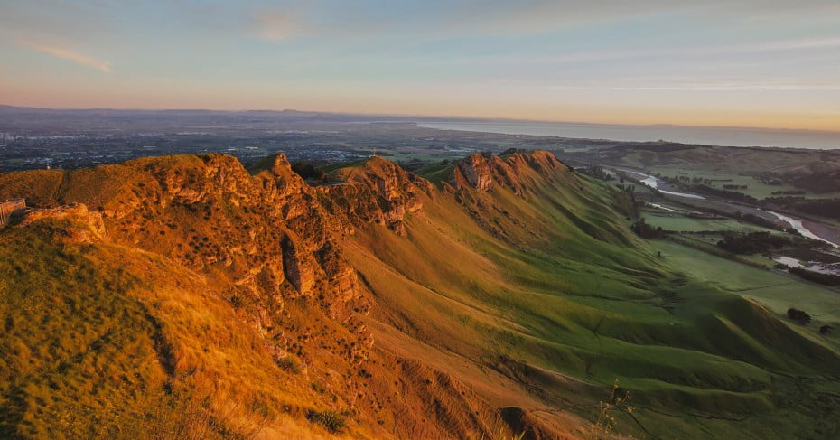 Te Mata Peak, Napier, New Zealand.