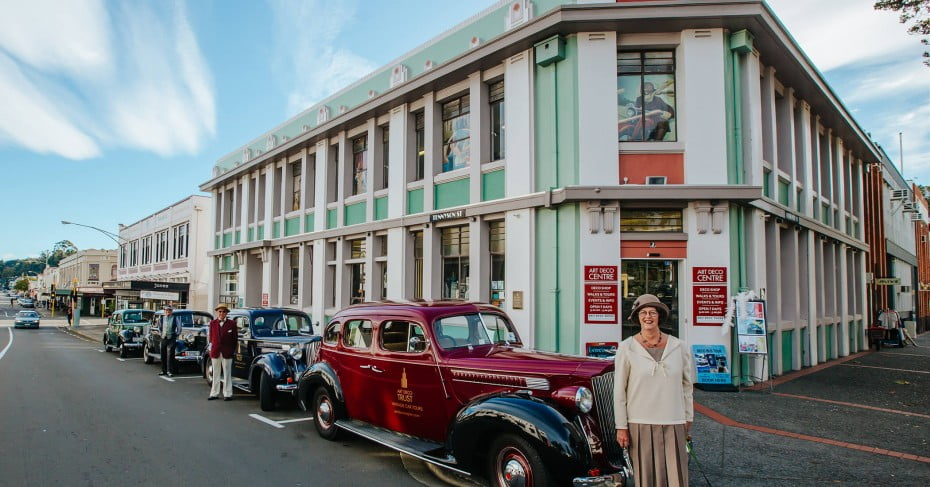 Napier Vintage Car Tours, New Zealand.