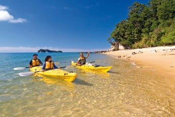 Kayaking, Abel Tasman, New Zealand.
