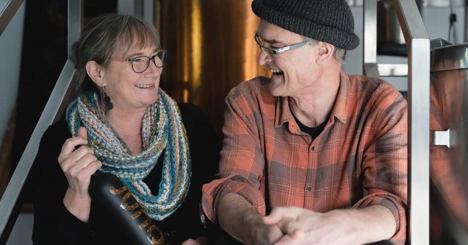 Jo & Dave James of Juno Gin, New Plymouth/Taranaki, New Zealand.