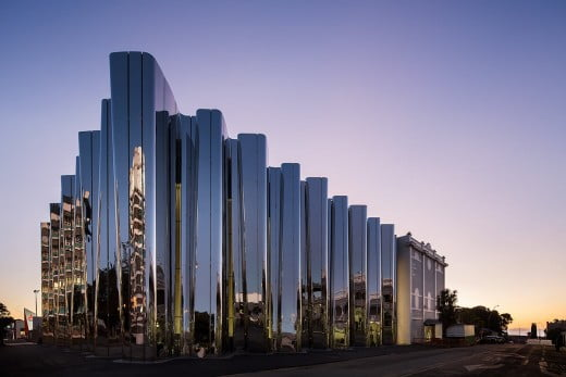 Len Lye Centre, New Plymouth/Taranaki, New Zealand.