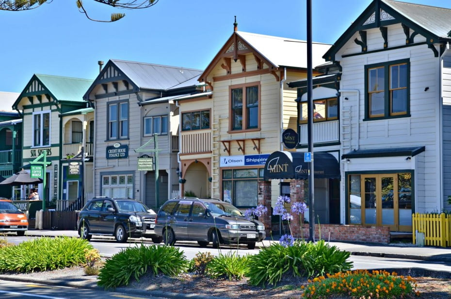 New Zealand's Napier oozes vintage charm thanks to the sumptuous period architecture.