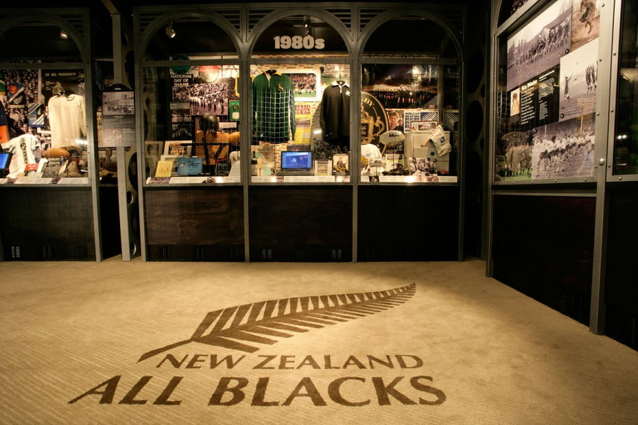 Rugby museum, Palmerston North, New Zealand.