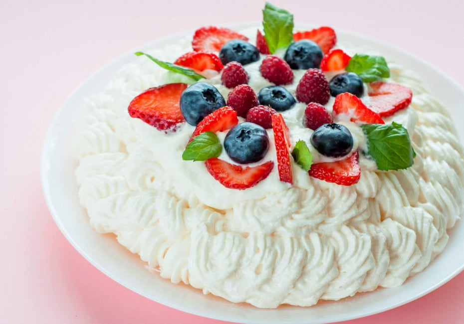 Served mostly in the summer - but likely to make an appearance at most celebrations throughout the year – the pavlova is a New Zealand favourite!
