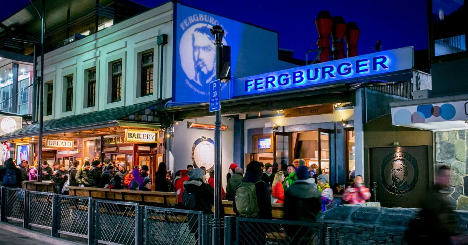 Fergburger, Queenstown, New Zealand.