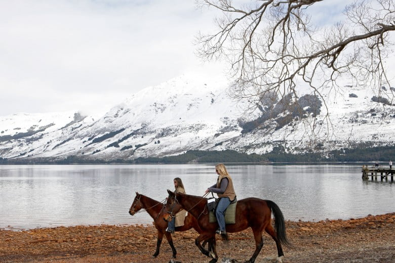 Horse Riding in Winter, Queenstown, New Zealand
