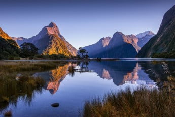 Milford Sound, Fiordland National Park, New Zealand.