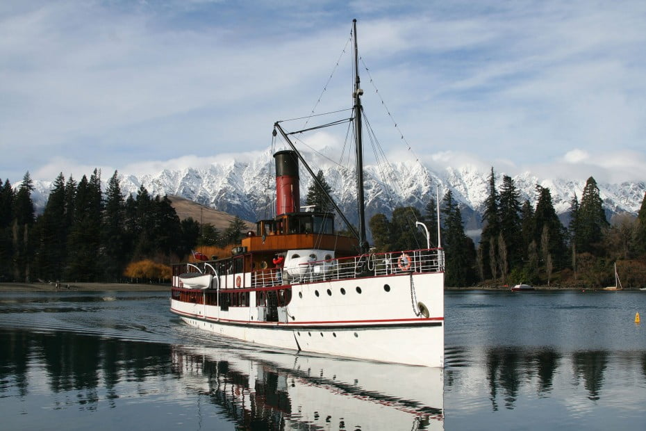 Steamer, Queenstown, New Zealand.