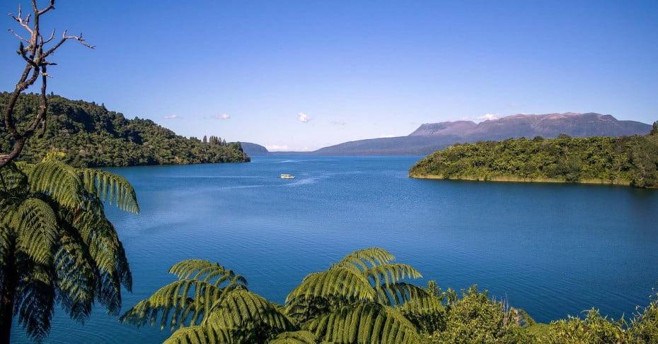 Lake Tarawera, Rotorua.