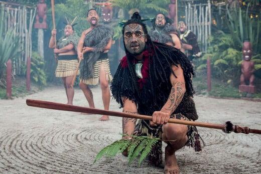 Māori culture, Tamaki Māori Village, Rotorua.