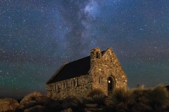 Church of the Good Shephard, Lake Tekapo,New Zealand.