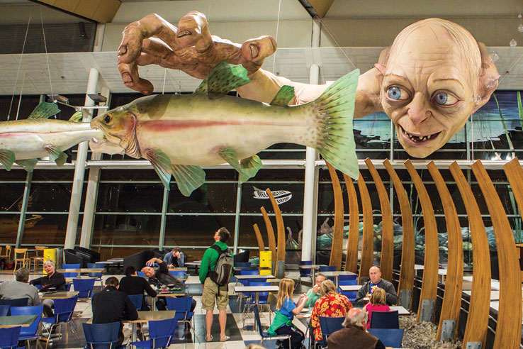 Wellington Airport.
