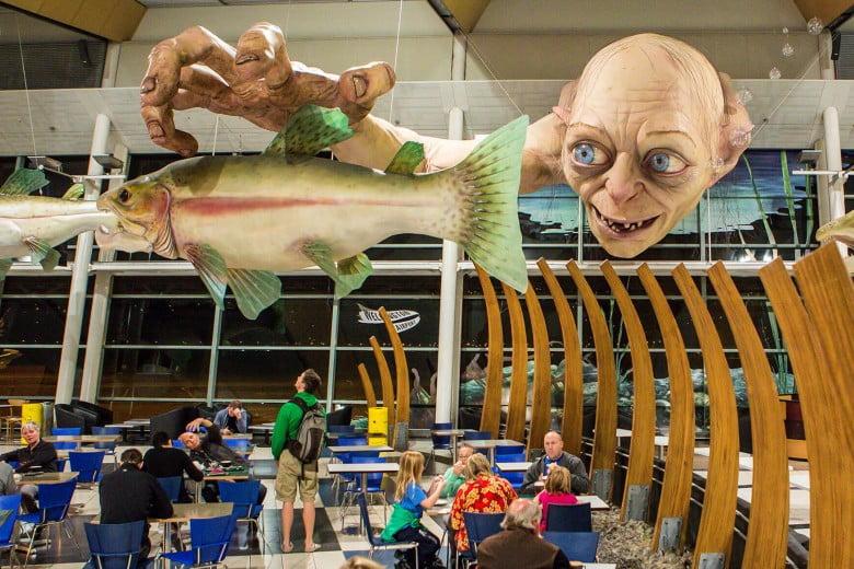 Wellington airport, Wellington, New Zealand.